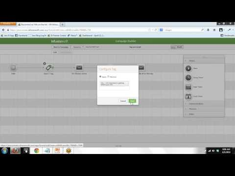 How to clone sequences in Infusionsoft Campaign Builder