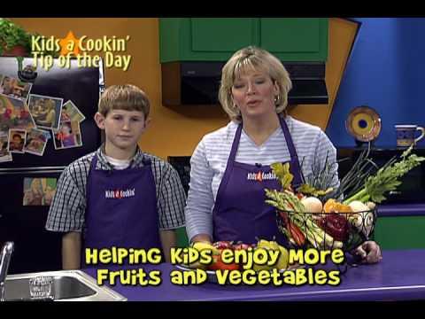 Ayude a los Niños a Disfrutar Más las Frutas y los Vegetales