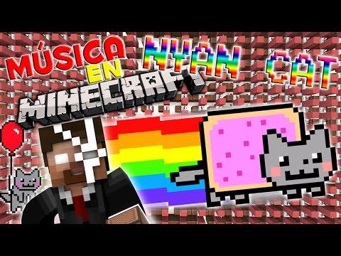 NYAN CAT | Canciones en Minecraft | NoteBlock Song [Tutorial]