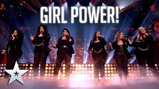 Pure GIRL POWER with the Honeybuns!   Live Shows   BGT Series 9