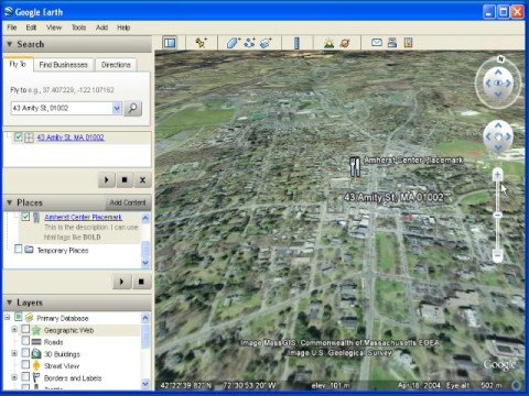 Making KML With Google Earth