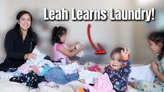My baby is learning how to do Laundry - @itsJudysLife