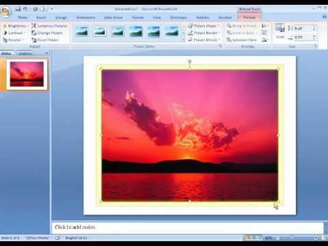Powerpoint image basics