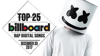 Top 25 • Billboard Rap Songs • December 30, 2017 | Download-Charts