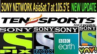 Asiasat 7 powervu key sony network 2018 new update all