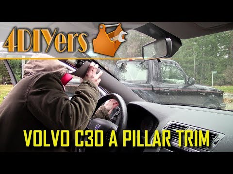 DIY: Volvo C30 A Pillar Trim Removal