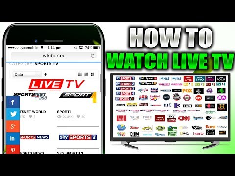 How To Watch Live Cable TV & Live Sports On iPhone/iPad(NO JAILBREAK NO COMPUTER ) iOS 11,10,9