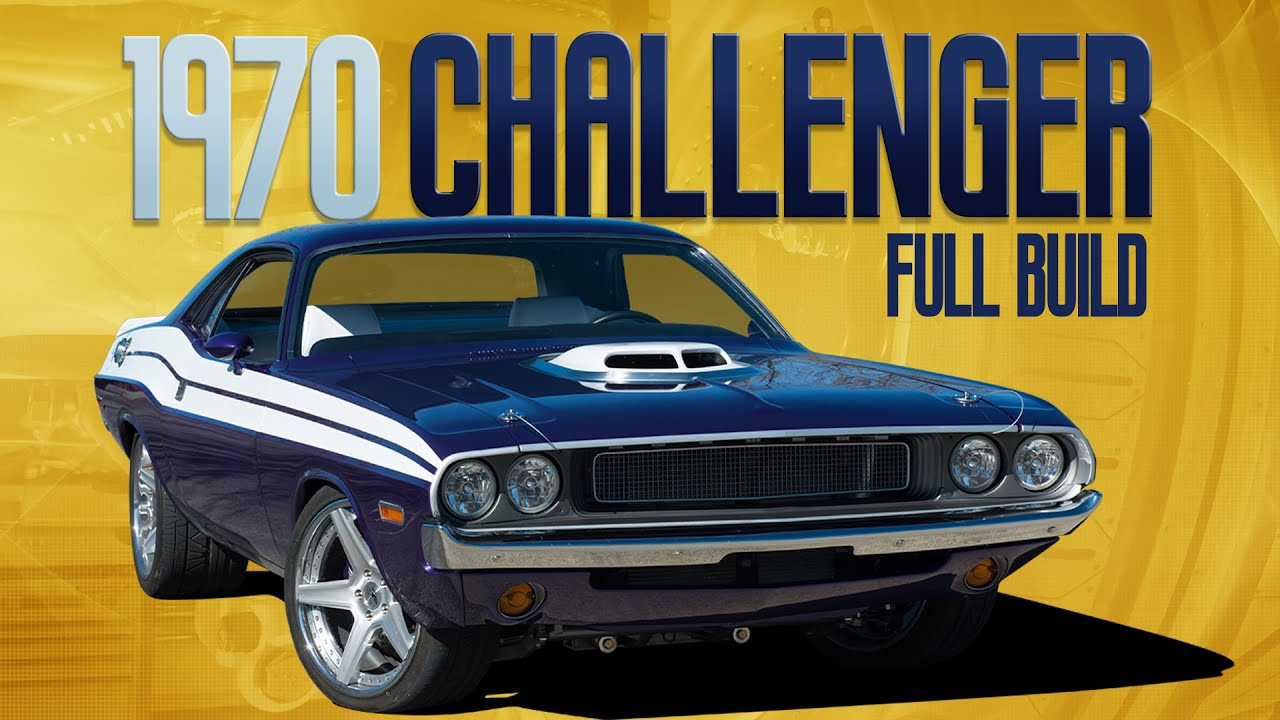 FULL REBUILD: Upgrading A 1970 Dodge Challenger Restomod From The Inside Out