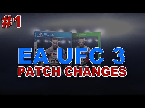 Important Changes Coming To EA Sports UFC 3 - Patch Spoilers #1