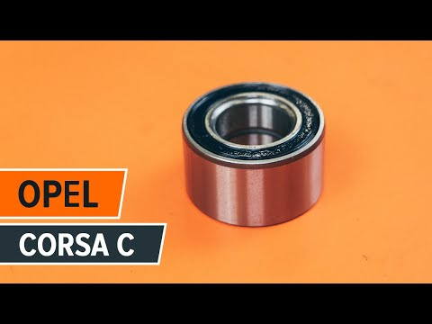 How to replace front wheel bearing on OPEL CORSA C TUTORIAL | AUTODOC