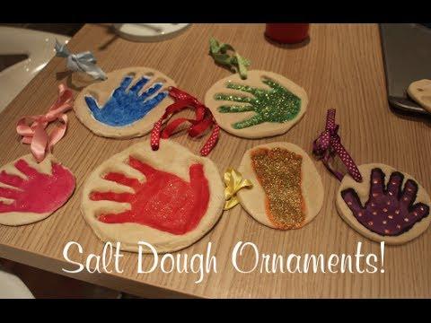 Salt Dough Ornaments | VLOGMAS DAY 23