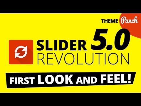 Slider Revolution WordPress 5.0 Sneak Peek