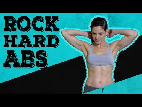 ROCK HARD ABS | 10 minute HIIT workout