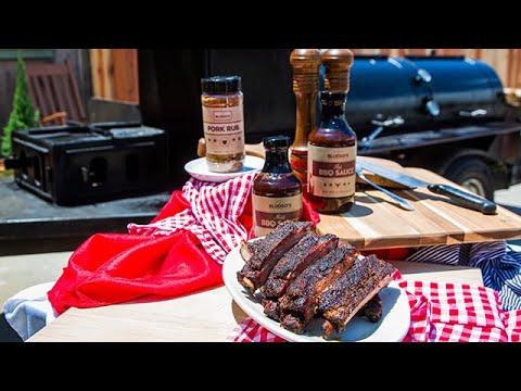 Kevin Bludso's Smoked Pork Ribs - Home & Family