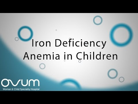 Iron Deficiency Anemia in Children