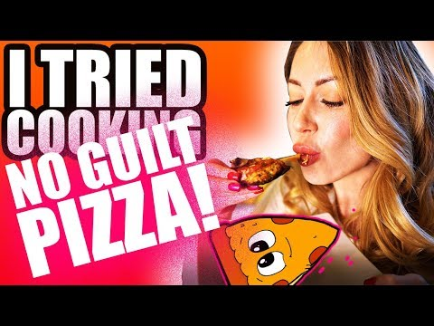 I TRIED COOKING A NO GUILT PINTEREST PIZZA!!!