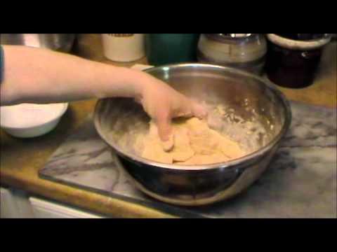 Homemade Whole Grain Matzah Part 1