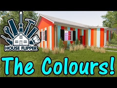 Let's Play House Flipper #33: The Colours!