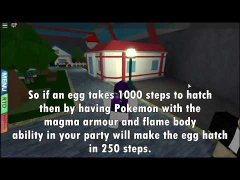 ROBLOX Pokemon Brick Bronze - How to hatch eggs quickly