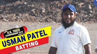 Usman Patel Batting | UK Tiger Championship 2019, Ghatkopar, Mumbai