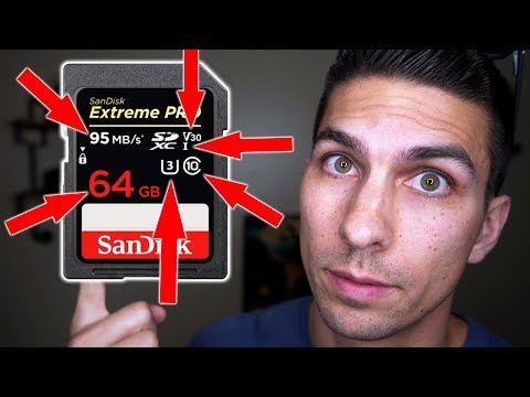 Choosing the Best SD Card for Video – Understanding All the Numbers and Symbols on SD Memory Cards