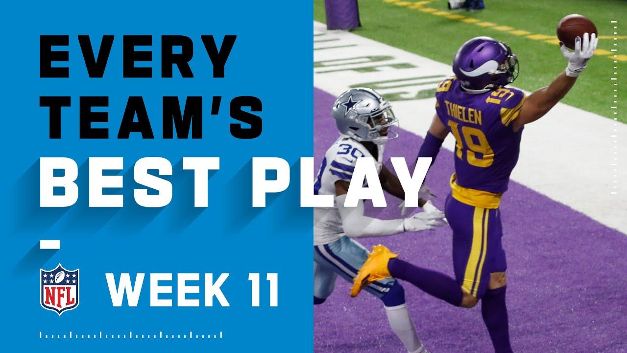 Every Team's Best Play Week 11   NFL 2020 Highlights