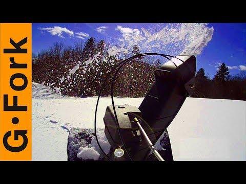 Epic Film Of My Troy Bilt Snow Blower | GardenFork