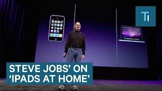 Steve Jobs Never Let His Kids Use An iPad