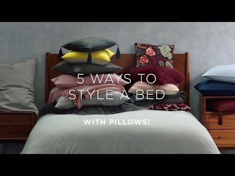 How To: Layer Your Bed + Style Your Pillows