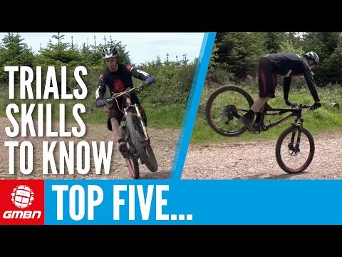 5 Trials Skills That Every Mountain Bike Rider Should Know – MTB Skills