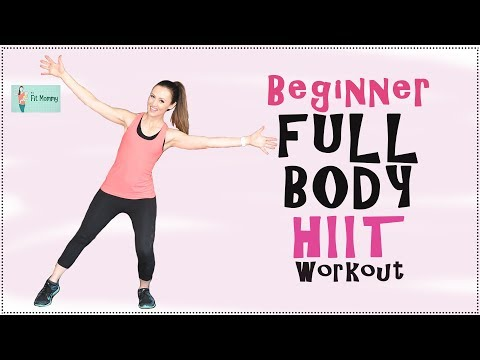 Beginner Full Body HIIT Workout | at home workout | Fit Mommy