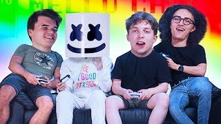 Playing Video Games w/ MARSHMELLO!