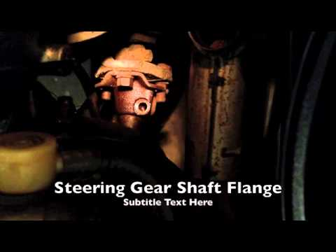 Steering Column Removal