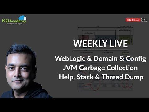 Oracle WebLogic Server & EBS R12.2 Q/A: JVM, Heap, GC, Stack, Thread Dump