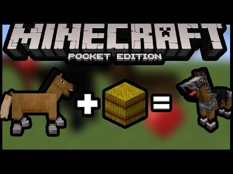 Easiest and Fastest Way to tame horse in Minecraft pe 0.15.0 | MCPE ( pocket edition)