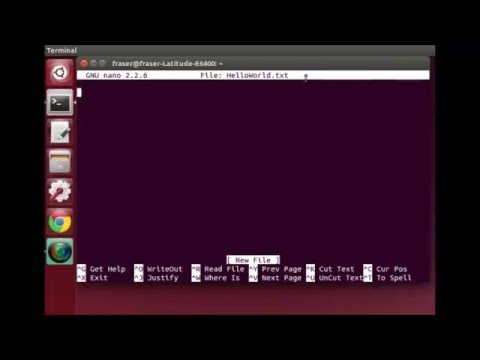 Linux Terminal Tutorial 2 | Creating and Moving Files