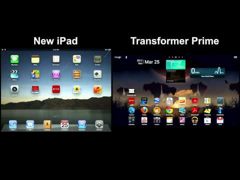 New iPad vs. Transformer Prime Comparison Pt. 1: Features and Performance Rev 1