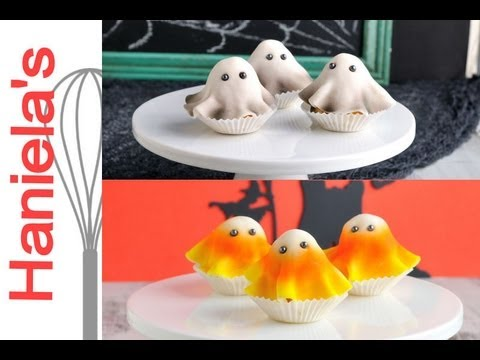 How To Make Halloween Mini Ghost Cakes
