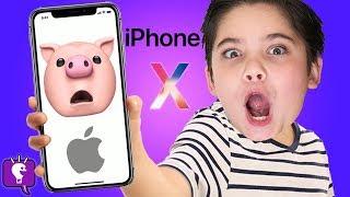 iPhone X Animojis with HobbyFamily