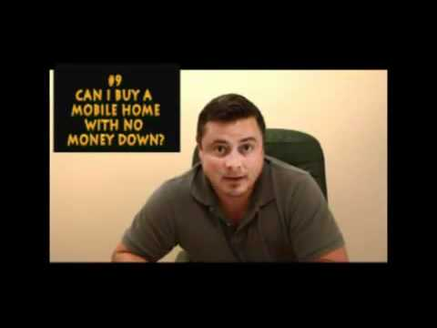 Can I Buy Mobile Homes No Money Down?