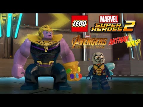 LEGO Marvel Super Heroes 2 Avengers Infinity War and Ant Man and The Wasp Characters Leaked