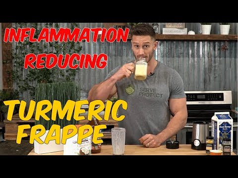 Inflammation Reducing Drink: Golden Milk Frappe (with ACV)