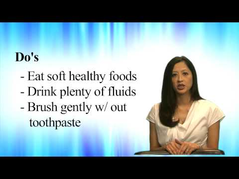 Helpful Tips - After Teeth Extractions