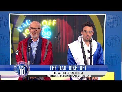 Peter Berner & Joe Face-Off In Dad Joke-Off | Studio 10
