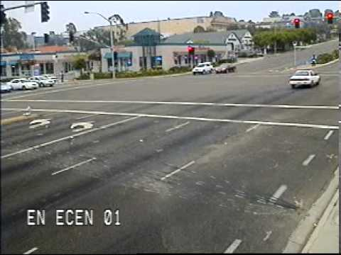 What a red-light camera video looks like