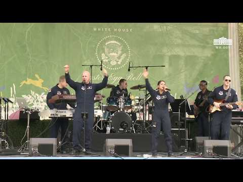 White House Easter Egg Roll: Bunny Hop Stage with The United States Air Force Band