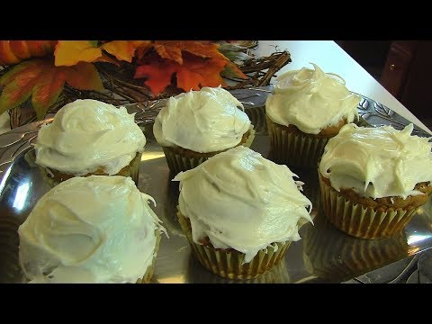 Betty's Pumpkin Spice Cupcakes