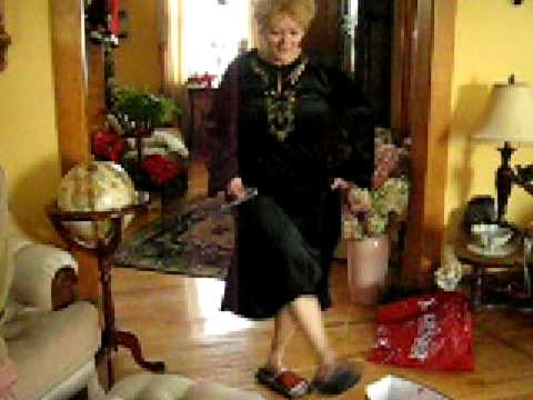 Swept off her feet on Christmas Day