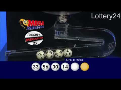 2018 06 08 Mega Millions Numbers and draw results