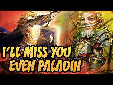 Hearthstone: I'll Miss You Even Paladin